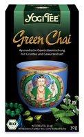 Yogi Tea «Green Chai» со смесью восточных пряностей