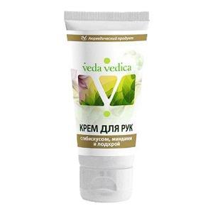Крем для рук с гибискусом,  миндалем и лодхрой веда ведика veda vedica  ,  50 мл.