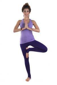 Майка удлиненная Савасана - Одежда для йоги