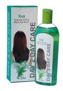 Масло для волос аюрведическое хна Day 2 Day Care, 200 мл