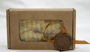 """Мыло натуральное """"Каннабикум"""" (сандал + ментол), 110±10 г."""