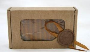 """Мыло натуральное """"Кастильское"""" (ваниль + корица), 110±10 г."""