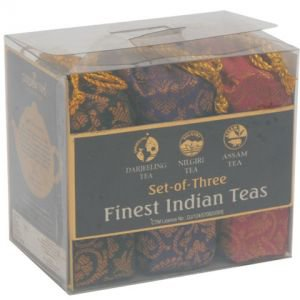 Фото - Golden Tips «Indian Trio – Darjeeling, Assam & Nilgiri – Brocade Bag», 150 г.