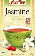 Yogi tea «jasmine» (жасмин)Аюрведические чаи Yogi Tea<br>Нежный и легкий вкус этого чая подарит Вам спокойствие и умиротворение с каждой чашкой. Jasmine концентрирует энергию внутри и Вы ощущаете прилив жизненных сил.<br>