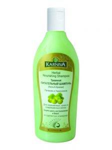 заказать Травяной питательный шампунь амла и брахми карнива herbal nourishing shampoo karniva Karniva (Карнива), 200 мл.