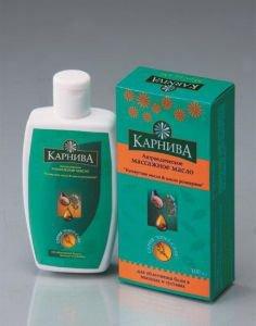 Массажное масло «Кунжутное масло & Масло розмарина» 100 мл.