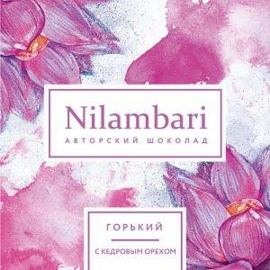 Шоколад горький с кедровым орехом nilambari ниламбари Nilambari (Ниламбари) - Полезные сладости