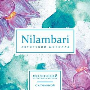 Шоколад на овсяном молоке с клубникой nilambari ниламбари Nilambari (Ниламбари) - Полезные сладости