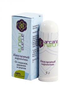 Квасцовый карандаш от порезов, царапин и укусов Aasha Herbals (Ааша Хербалс), 5 гр. - Натуральные дезодоранты