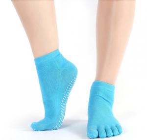 Носочки 5 пальчиков для йоги, пилатеса и фитнеса yogatops йогатопс Yogatops (Йогатопс) - Одежда для йоги