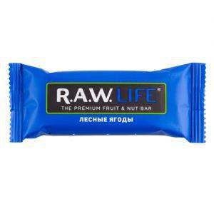 Батончик лесные ягоды R.A.W. LIFE, 47 г. - Полезные сладости