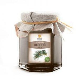 Мёд лесной дикий Янтарь – Душевный мёд, 250 г. - Полезные сладости
