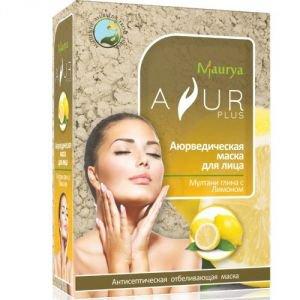 Маска косметическая для лица мултани глина и лимон аюр плюс Ayur Plus (Аюр Плюс), 100 г