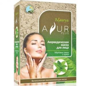 Купить со скидкой Маска косметическая для лица мултани глина и тулси аюр плюс  Ayur Plus (Аюр Плюс),  100 г.