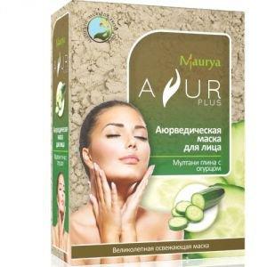 Маска косметическая для лица мултани глина и огурец аюр плюс Ayur Plus (Аюр Плюс), 100 г