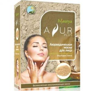 Маска косметическая для лица мултани глина аюр плюс Ayur Plus (Аюр Плюс), 100 г