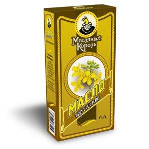 Масло горчичное  Масляный Король,  0.1 л.