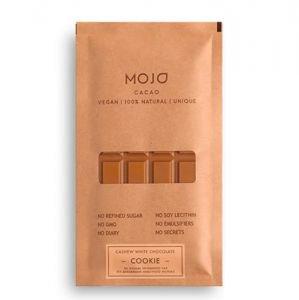 Шоколад белый cookie c гречишным чаем mojo MOJO Cacao (Моджо Какао) - Полезные сладости