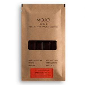 Шоколад горький 70% habanero salt с перцем habanero и морской соль MOJO Cacao (Моджо Какао) - Полезные сладости