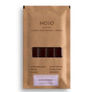 Шоколад молочный 43 MOJO Cacao (Моджо Какао), 5% moccachino mojo cacao - Полезные сладости