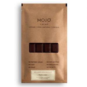 Шоколад молочный 54% popcorn с воздушным соленым поп MOJO Cacao (Моджо Какао) - Полезные сладости