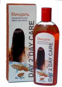 Масло для волос аюрведическое миндаль Day 2 Day Care, 200 мл