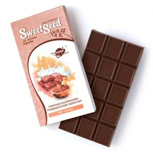 Шоколад молочный на основе кэроба Образ Жизни, 85 г. - Полезные сладости