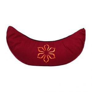 Подушка для медитации полумесяц амрита бордовый Amrita Style - Подушки, болстеры