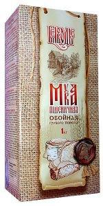Мука грубого помола «Пшеничная обойная», 750 г.