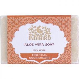 Аюрведическое мыло алоэ вера индиберд ayurvedic soap aloe vera indibird Indibird (Индибёрд), 100 г. - Натуральное мыло