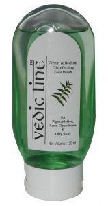 Лосьон для умывания для проблемной кожи neem brahmi дезинфицирующий Vedicline, 120 мл