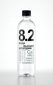 Вода 8.2, 0,5 л.