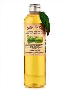 Натуральный шампунь для волос лемонграсс органик тай natural shampoo lemongrass organic tai  ,  260 мл.