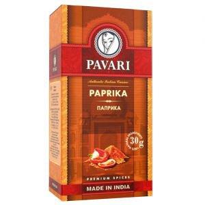 Паприка молотая pavari PAVARI (Павари), 30 г. - Специи и приправы