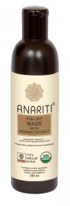 Anariti Маска отшелушевающая для лица с экстрактом апельсина  ,  250 мл.