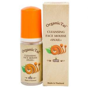 Пенка для умывания c экстрактом улитки органик тай cleansing face mousse snail organic tai Organic Tai (Органик Тай), 60 мл. - Уход за лицом