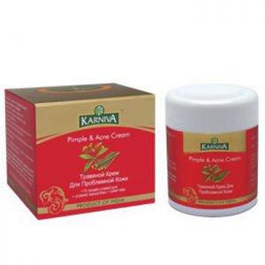 Травяной крем для проблемной кожи карнива pimple &ampamp acne cream karniva Karniva (Карнива), 50 г. - Уход за лицом