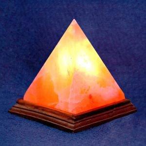 Соляная лампа «пирамида» от Ayurveda-shop.ru