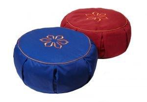 Подушка для медитации амрита 35х10 синий Amrita Style - Подушки, болстеры