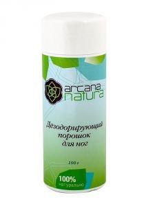 Дезодорирующий порошок для ног аркана натура arcana natura Arcana Natura (Аркана Натура), 100 гр. - Натуральные дезодоранты