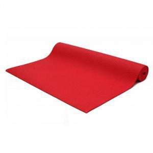 Коврик для йоги practika практика, красный Йогин - Недорогие коврики