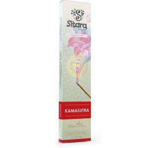 Палочки ароматические аромат цветочный пряный kamasutra sitara premium ситара премиум Sitara (Ситара), 14 палочек. - Благовония