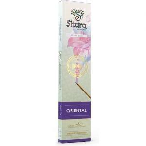 Палочки ароматические аромат древесный цветочный oriental sitara premium ситара премиум Sitara (Ситара), 14 палочек. - Благовония