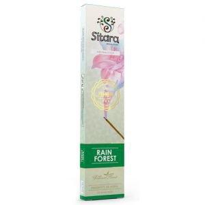 Палочки ароматические аромат древесный сладкий rain forest sitara premium ситара премиум Sitara (Ситара), 14 палочек. - Благовония