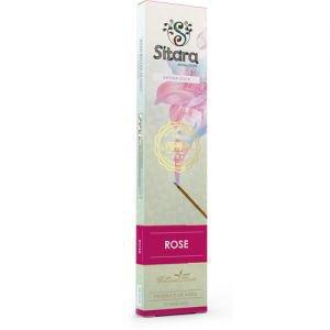 Палочки ароматические аромат розы rose sitara premium ситара премиум Sitara (Ситара), 14 палочек. - Благовония