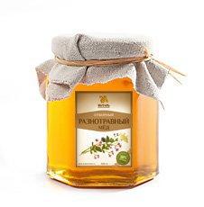 Мёд разнотравный Янтарь – Душевный мёд, 1000 г. - Полезные сладости