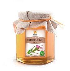Мёд кипрейный жидкий Мед Янтарь, 500 г. - Натуральный мед