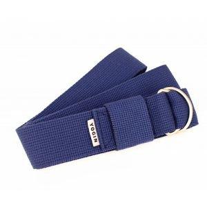 Ремень для йоги 210х4 см., синий Йогин - Ремни, одеяла, стулья