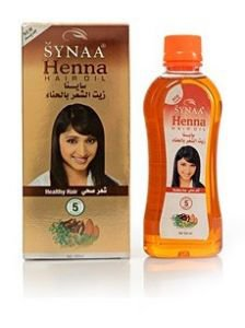 Масло для волос с хной Synaa, 100 мл.
