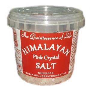 Соль пищевая гималайская розовая, крупный помол 2-5 мм. Всем на пользу (vsemnapolzu), 284 г. - Специи и приправы